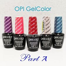 OPI GelColor PART A -All New Soak Off Led UV Gel Polish Base Top Coat - SHIP 24H