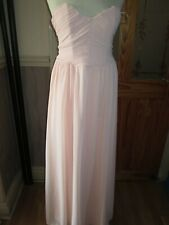 0c35f56dc571 Boohoo pink strapless bandeau Prom occasions dress size 8 brand new tags