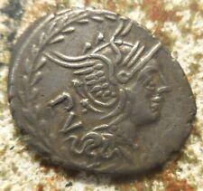 M. Lucilius Rufus. 101 BC. Silver Denarius (3.86 gm, 22 mm). Rome mint.