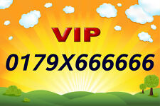 0179 * 666666 Absolute VIP Nummer - Einmalige Vip Handynummer
