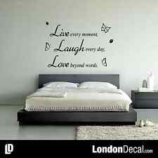 LIVE LAUGH LOVE QUOTE - Removable Vinyl Wall Decal Stickers Home room Decor Art