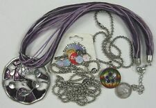 """Lot of 3 Vintage Necklaces~Best Friends And More 16"""" & 18"""" Long"""