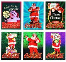 Coca Cola Santa (Series 6) Jumbo Card # 6 from Sign Of Good Taste Set - 1995 NEW