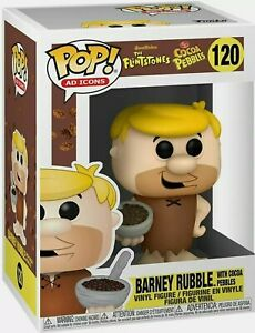 Funko Pop! Ad Icons: Cocoa Pebbles - Barney with Cereal Vinyl Figure **DB**