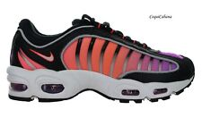 """Nike Men's """"Air Max Tailwind IV"""" Black Multicolor Training Shoes Multiple Size"""