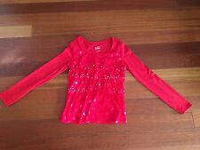 Justice Girl's Red Shirt size 10