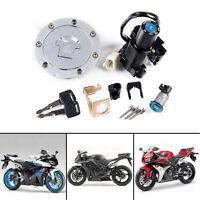 For Honda CBR1000RR 04-07 CBR600RR 03-06 Ignition Switch Lock Fuel Cap Key Set
