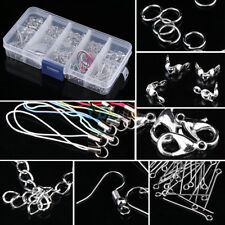 Jewellery Making Starter Tools Kit Bead Head Pins Chain Handmade Accessories coi