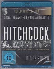 ALFRED HITCHCOCK: DIE 39 STUFEN (39 STEPS) 1935 COLLECTOR'S EdITION..BLU RAY