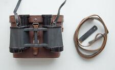 German near mint 6x30 rln binoculars with case, WWII, dienstglas, last ditch