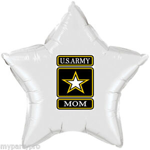 ARMY STRONG MOM MYLAR BALLOON DECORATIONS Party Supplies FREE SHIPPING