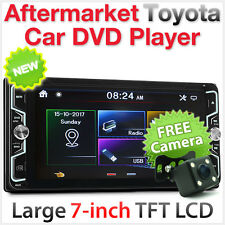 "7"" Car DVD Player For Toyota Avensis Verso Hilux Land Cruiser Stereo Radio CD MK"
