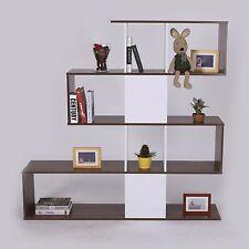 Homcom - Libreria di Deign Moderna Stile Vintage Mobili Ufficio Scaffale