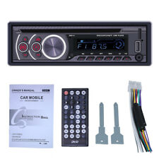 1Din Bluetooth Car Stereo MP3 Player CD VCD DVD AUX USB FM Radio In Dash Audio