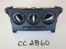 "12 13 MAZDA 3 ""2.0L"" CLIMATE CONTROL PANEL TEMP UNIT A/C HEATER HVAC OEM CC2860"