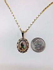 Cadena y medalla de San Judas Tadeo oro laminado 14k