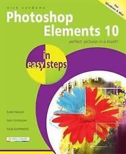 Photoshop Elements 10 In Easy Steps, Vandome, Nick, Very Good Book