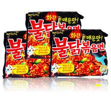 Spicy Chicken Noodles x 1,3,6,9 pcs BULDAKBOKEUM Ramyun Korean Fire Noodle Ramen