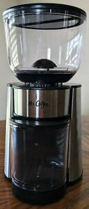 Mr. Coffee Automatic Silver Coffee Grinder EXCELLENT CONDITION Manual Included