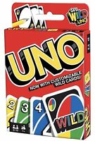 Mattel Games UNO Card Game Customizable with Wild Cards Perfect Gift For Family
