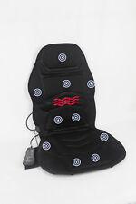Vibration 10 Motor Seat Massage Cushion Pad Neck Back Lumbar Heat Therapy