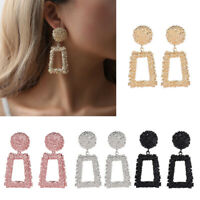 Fashion Statement Women Metal Geometric Boho Dangle Earring Studs Modern Jewelry