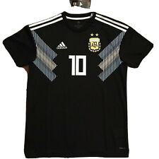 2018 Argentina Away Jersey #10 Messi Medium World Cup Soccer ALBICELESTE NEW