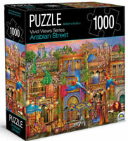 Arabian Street Vivid Street Views Jigsaw Puzzle 1000 Piece  68.6 x 50.8cm New