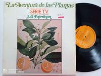 JOEL FAJERMAN La Aventura De Las Plantas SPAIN LP VINYL 1982 NM Space Synth