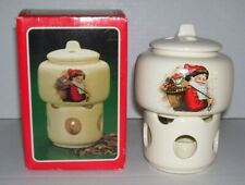 Vtg. 1986 Potpourri Press Santa Holiday Room Scenter Warmer in Box: 1 owner
