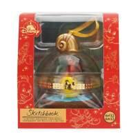 Disney Little Mermaid Sebastian and Flounder Duos Sketchbook Ornament New w Box