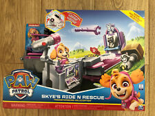 Paw Patrol Skye Ride N Rescue Transforming Helicopter Play Set New