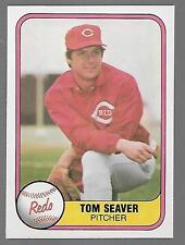 1981 Fleer #200 Tom Seaver card, New York Mets HOF
