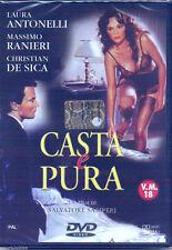 Casta e Pura (1981) DVD NUOVO Laura Antonelli Massimo Ranieri Christian De Sica