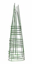 Glamos 748096 14-Inch x 42-Inch Heavy Duty Metal Tomato Cage - 5 Pack Light Gree