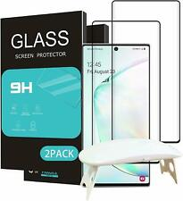 For Samsung Galaxy Note 10 Plus Screen Protector Tempered Glass 2-Pack HD Clear