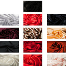 Polyester Quality Lining Fabric Dress Material Plain Upholstery Fashion Craft