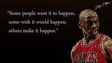 """Michael Jordan QUOTE Poster 24""""x 36"""" HD"""