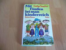 Mit Fünfen ist man kinderreich von Evelyn Sanders 1980