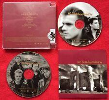 U2 THE UNFORGETTABLE FIRE Promo Album and Radio Sampler UK U2UF1 Mint