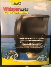 Tetra Whisper EX Silent Multi-Stage Power Filter for Aquariums 30-45 Gallons NEW