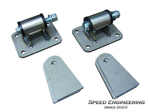 LS Engine Motor Mounts (LS Conversion Swap) Universal LS1, LS2, LS3, LS6, LS7