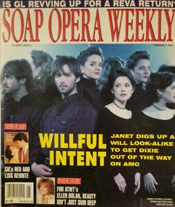 Soap Opera Weekly Feb 7 1995 Guiding Light Reva Return - ATWT Ellen Dolan