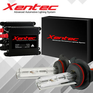 Bi Xenon Hi/Low Dual Beam HID Xenon Headlight Conversion Kit AC 55W Slim H4 9007