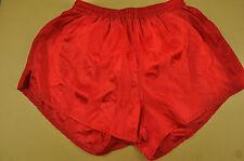 vtg Sprinter Shiny Nylon High Leg Shorts - Ibiza Glanz - Large #97