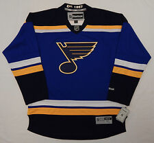 REEBOK Premier ST LOUIS BLUES NHL OFFICIAL JERSEY ADULT XL NEW +TAGS + Est 1967
