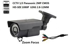 CCTV1/3 Panasonic 2MP HD-SDI 1080P Full Zoom Lens 2.8-12mm Outdoor SDI IR Camera