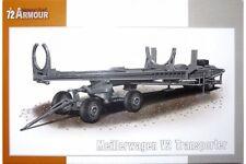 SPECIAL ARMOUR SA72012 1/72 Meillerwagen V2 Transporter