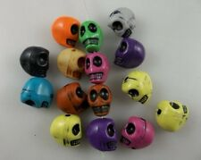50 pcs mix colour skeleton Charm Spacer beads 10mm