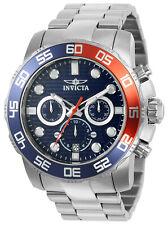 Invicta Men's Pro Diver Quartz Chronograph 100m Stainless Steel Watch 22225